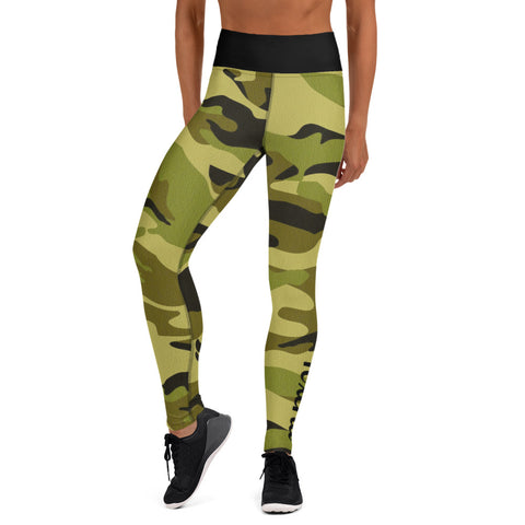 Camo 2 (green) Leggings