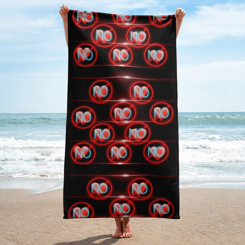 No Love 3 Towel