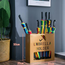 Load image into Gallery viewer, Paraplu Houder Home Uchwyt Na Parasol Support Metal Stand Paraguero Porte Parapluie Portaombrelli Porta Ombrelli Umbrella Rack