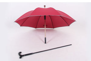 NX Walking Stick umbrella cane creative long umbrella men straight handle super strong against the wind christmas umbrellas cane