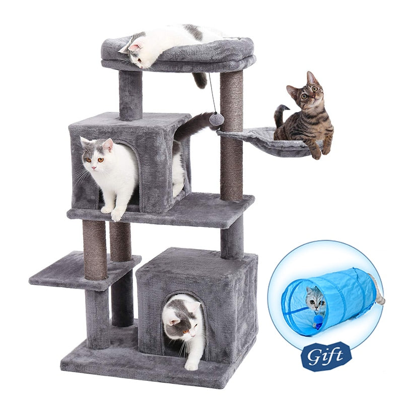 Luxury Cat Tree Condo Tower