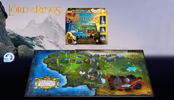 4D Lord of the Rings Puzzle