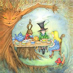 Card - Mad Hatter's Tea Party