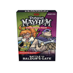 D&D Dungeon Mayhem Expansion: Battle for Baldurs Gate