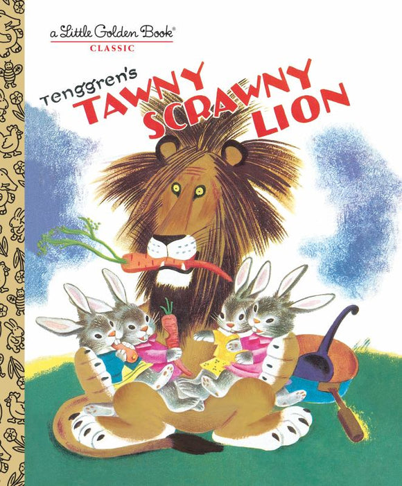 The Tawny Scrawny Lion (Little Golden Book)