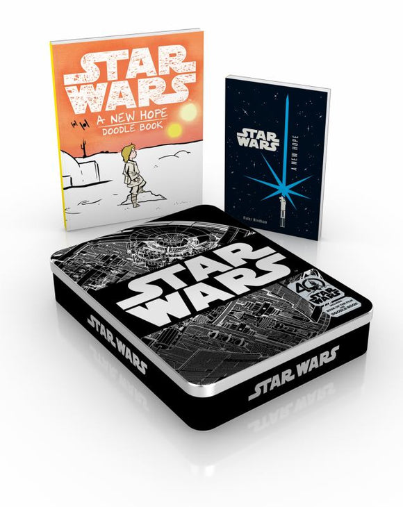Star Wars 40th Anniversary Tin - Includes Book of the Film and Doodle Book