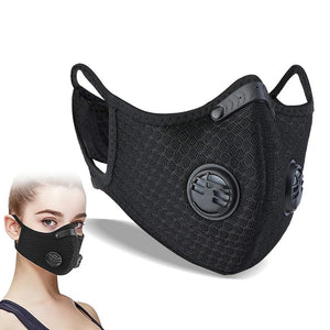 Sports Mask with Carbon Filter and Valves