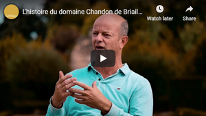 Winemaker Francois de Nicolay talking about his wine and biodynamie (In French)