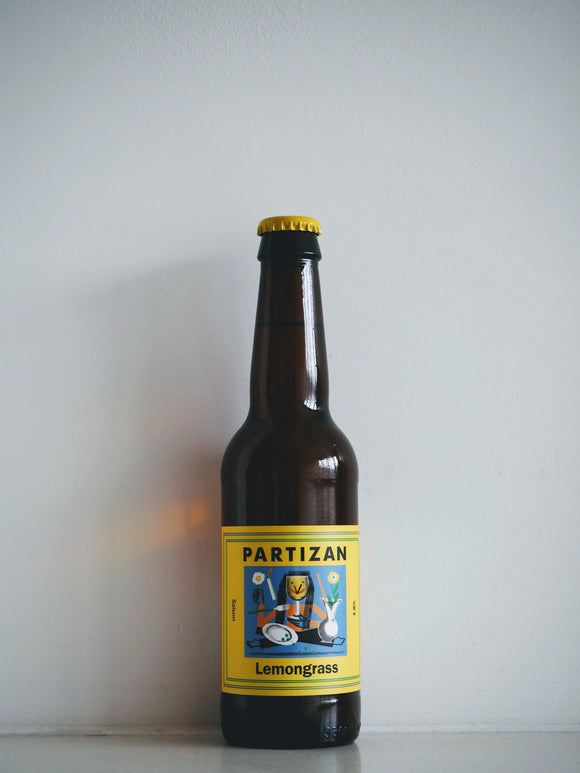 Partizan - Saison Lemongrass - 330 ml - peopleswine