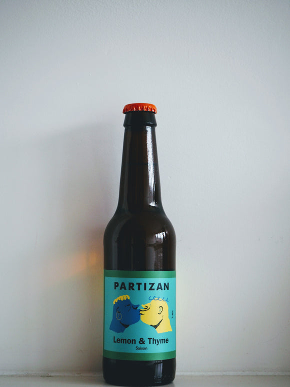 Partizan - Saison Thyme Lemon - 330 ml - peopleswine