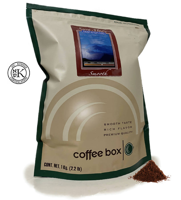 Coffee Box Sierra Madre Descafeinado