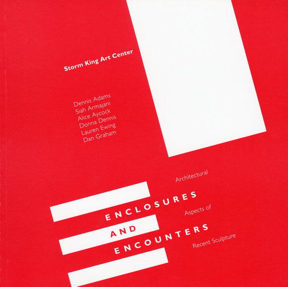 Square Red Book Cover with White Rectangles and text.