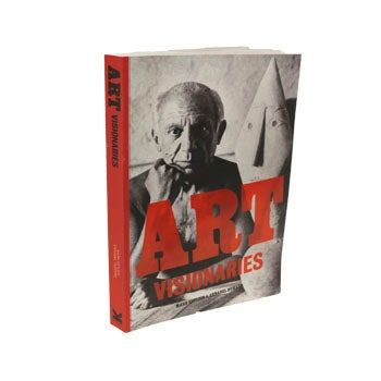 Book cover with Pablo Picasso photo.
