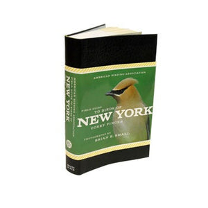 Soft cover with half-book sleeve, New York bird pictured.