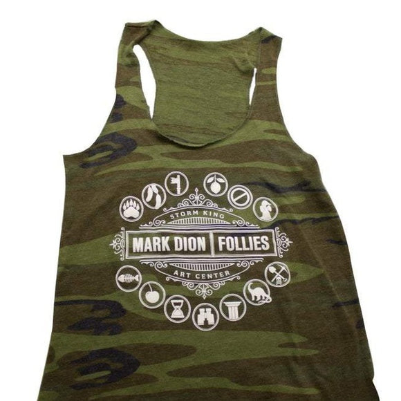 Mark Dion: Follies Camo Tank