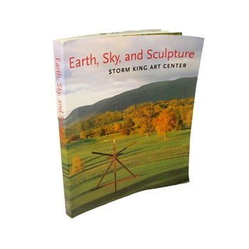 Coffee table book with Storm King Art Center landscape on cover.