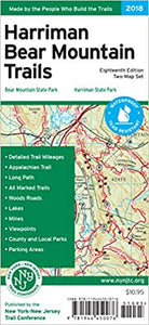 Harriman Bear Mountain Trails Map