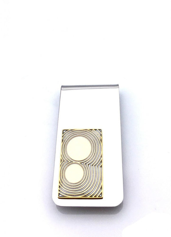 Moon Gold Money Clip