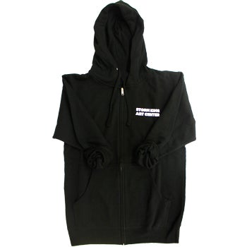 Storm King Art Center Black Zip Hoodie