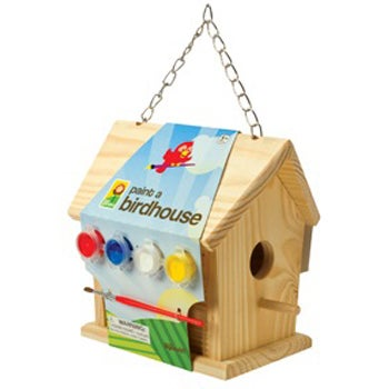 Paint-A-Birdhouse