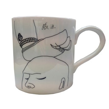 Three Legged Buddha Inspired Mug