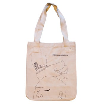 Three Legged Buddha Inspired Tote Bag