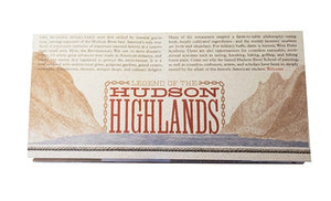 Legend of the Hudson Highlands—Map