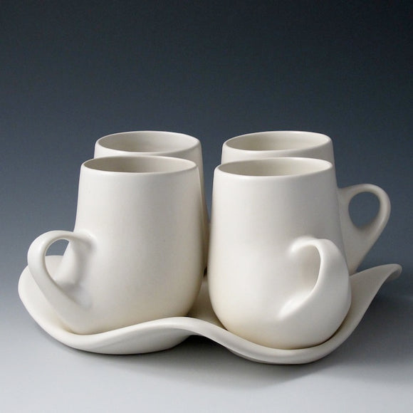Saenger Porcelain: Design I Mug Set