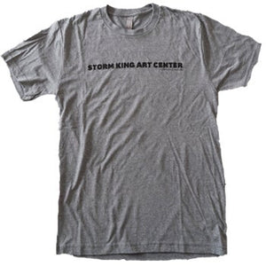 Storm King Art Center Men's Gray T-shirt