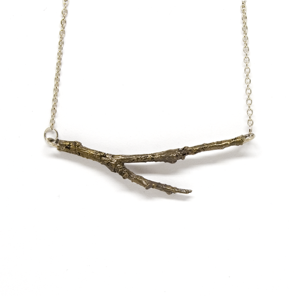 Twig Necklace / Earrings