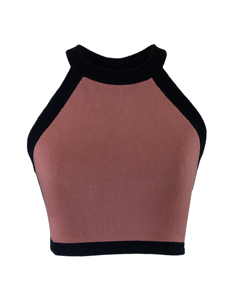 STRAP BACK CROP TOP