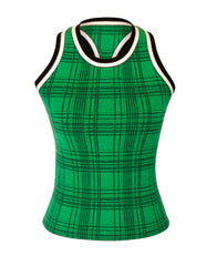 RETRO CHECK RACER TANK