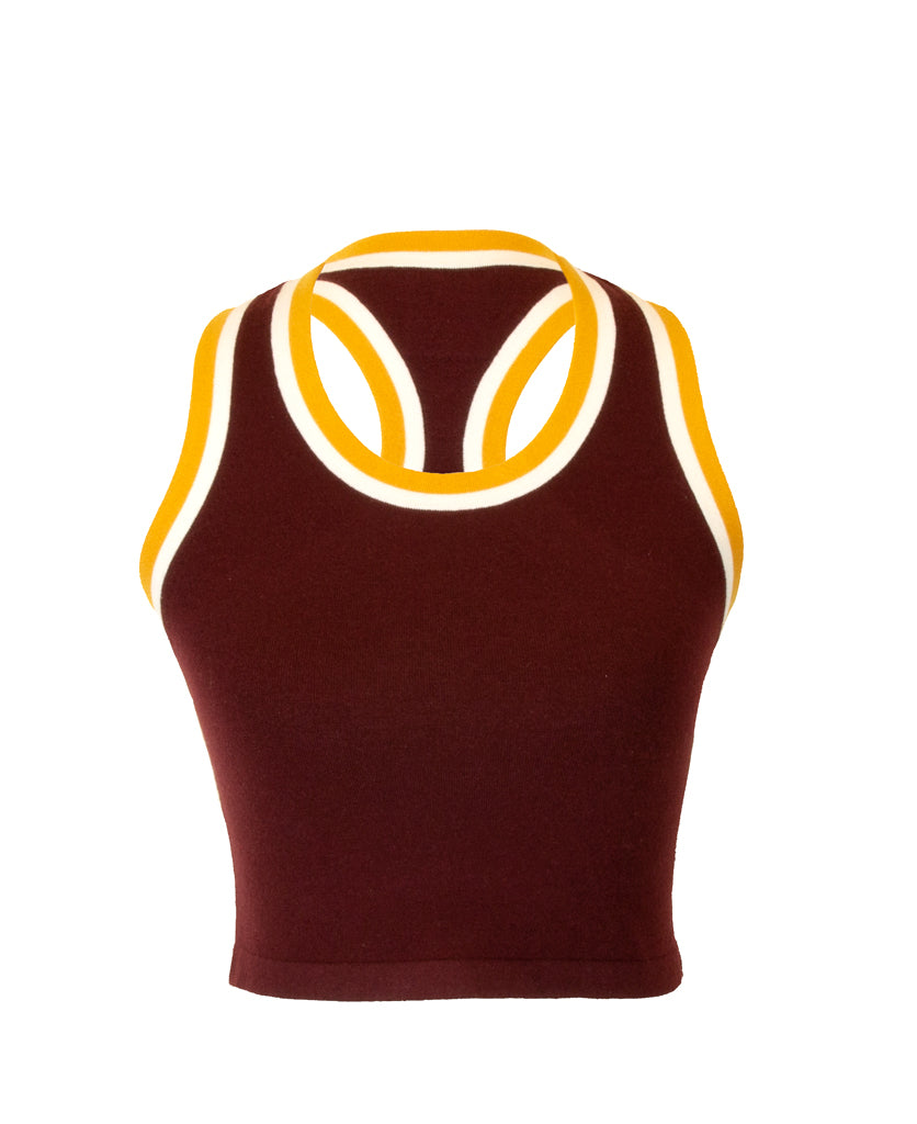 RETRO RACER CROP