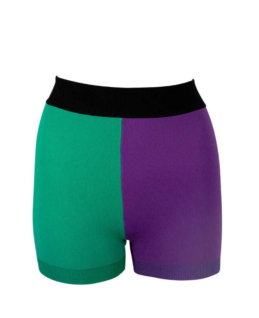 COLOUR BLOCK YONI SHORT