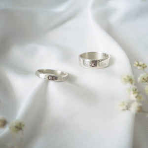 Thick Personalised Ring