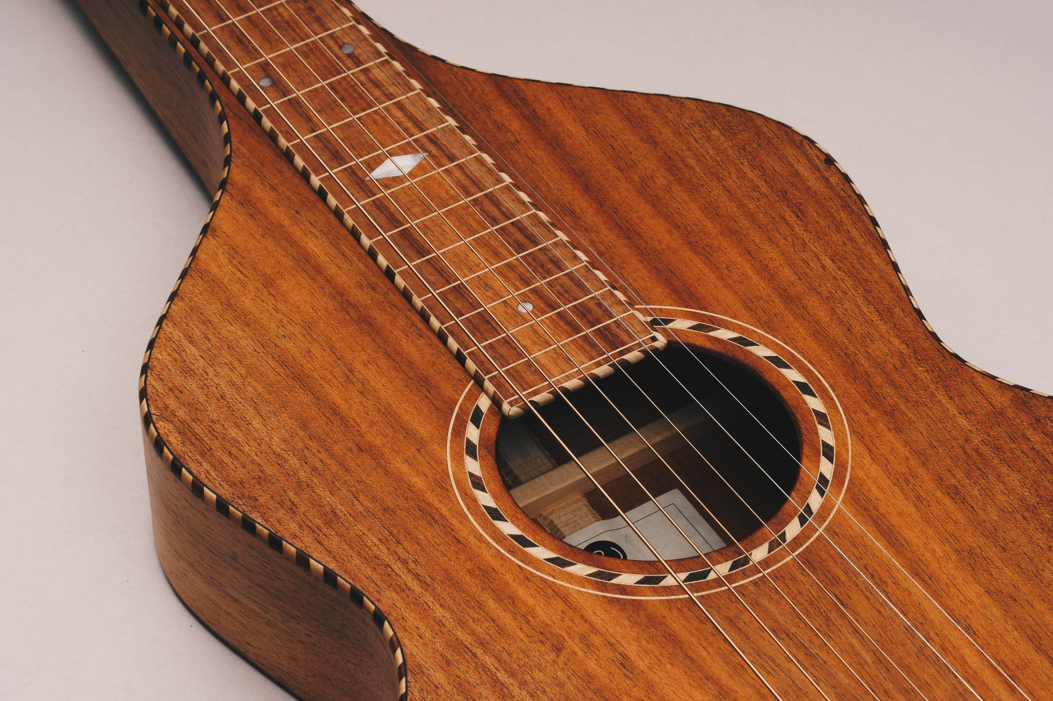 Weissenborn - Style 3 - Lightly Figured Tasmanian Blackwood
