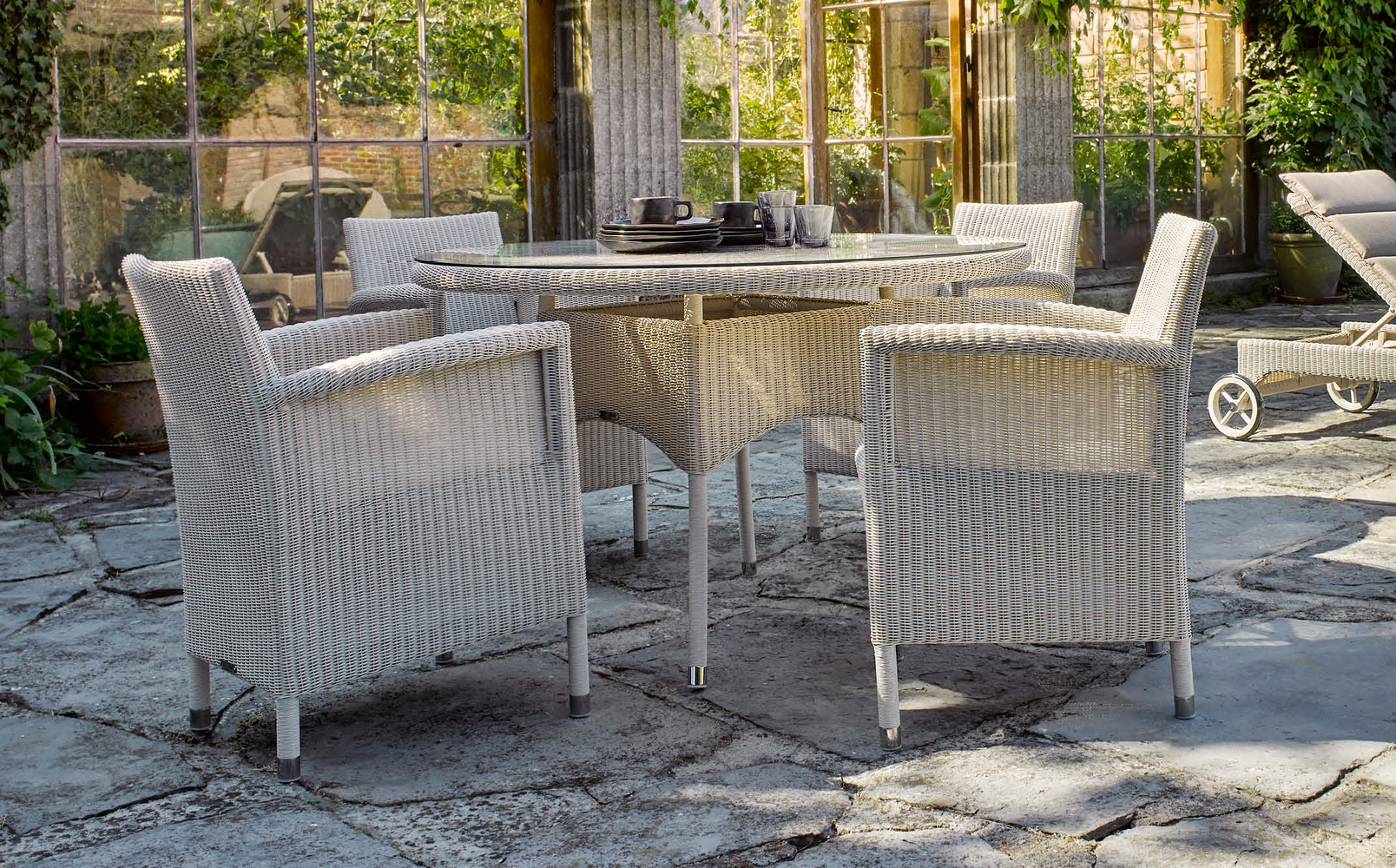 Safi Dining Table Outdoor Dia120