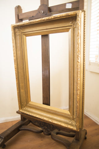 Antique English Gilt Art Frame