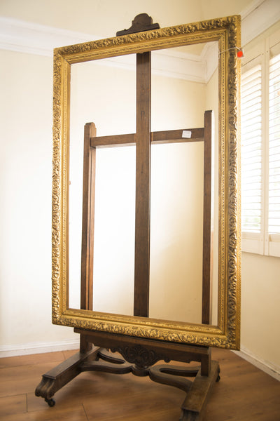 Antique English Giltwood Art Frame