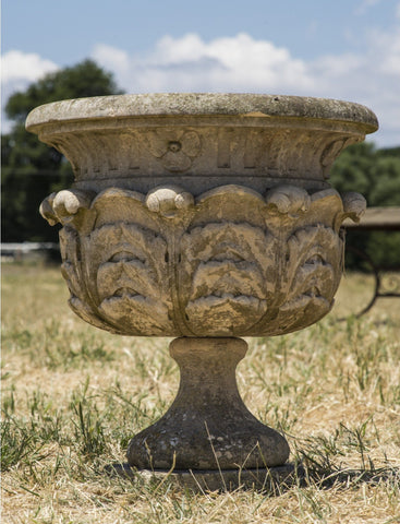 Pair of French Marble Urns