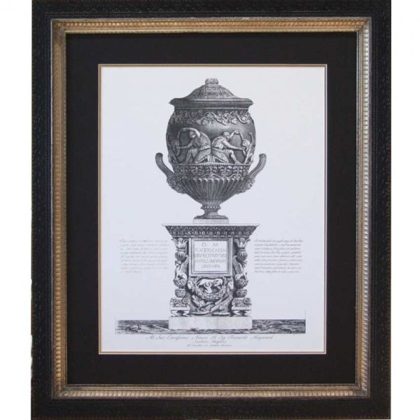 French Piranesi Urn Print