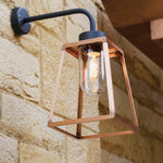 Lampiok Lacquered Brass Wall Lantern by Roger Pradier®, France