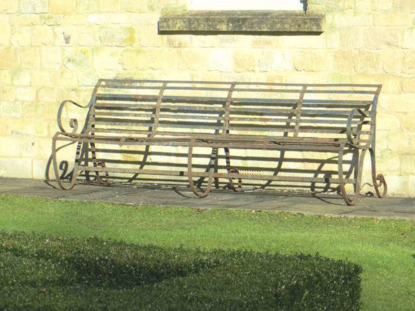 Antique English Garden Bench
