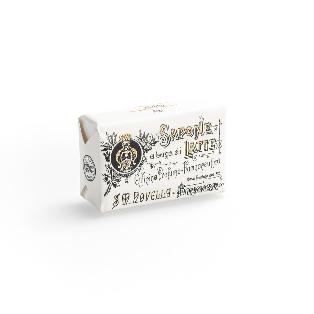 Santa Maria Novella - Milk Soap, Violetta - single bar