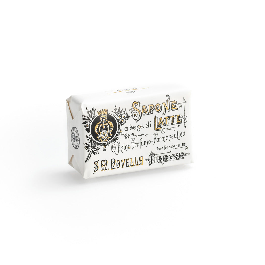 Santa Maria Novella - Milk Soap, Gardenia Fragrance - Single Bar