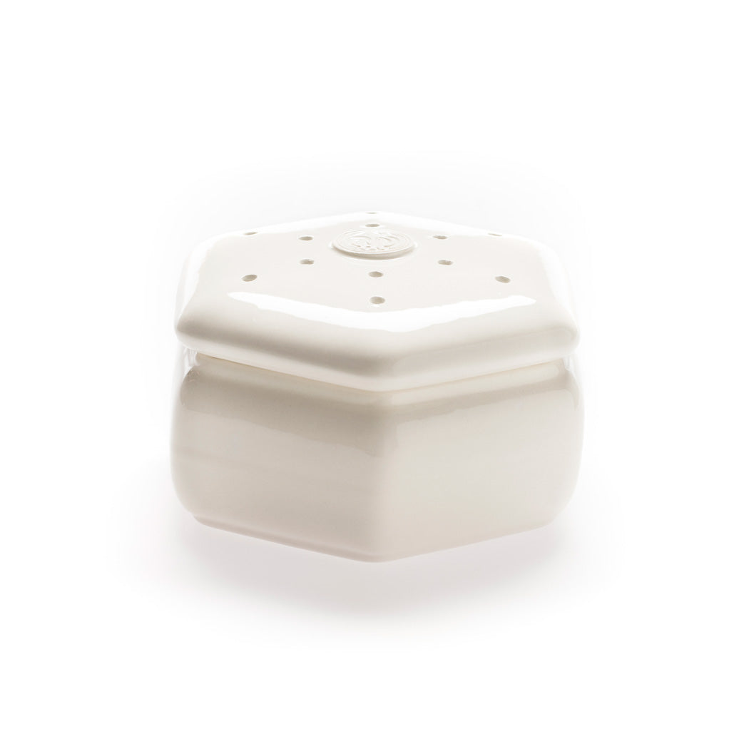 Santa Maria Novella - White Hexagonal Pot Pourri Holder