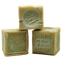 Olive 300g Cube Soap by Le Serail