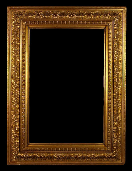Large English Antique Picture Frame
