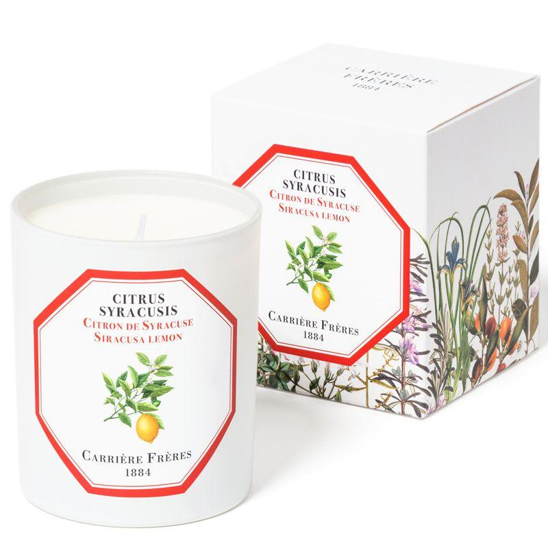 Carriére Fréres Candle - Lemon