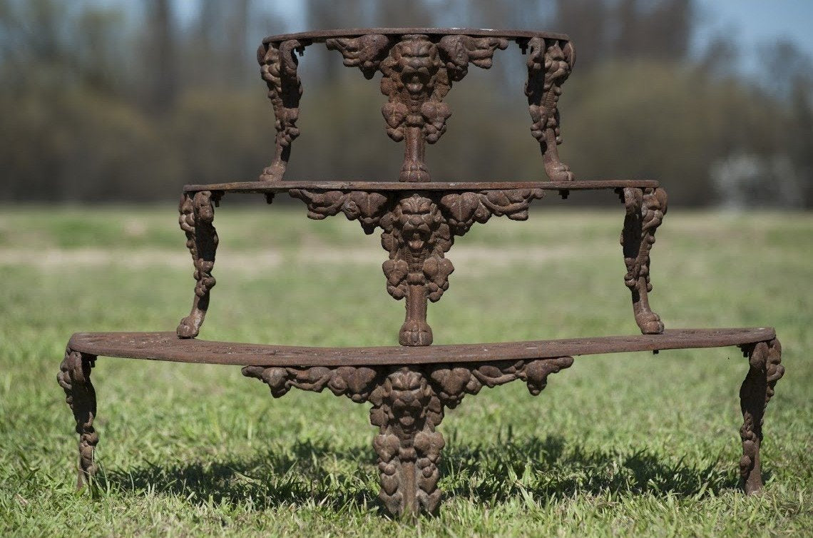 Cast Iron Etagère